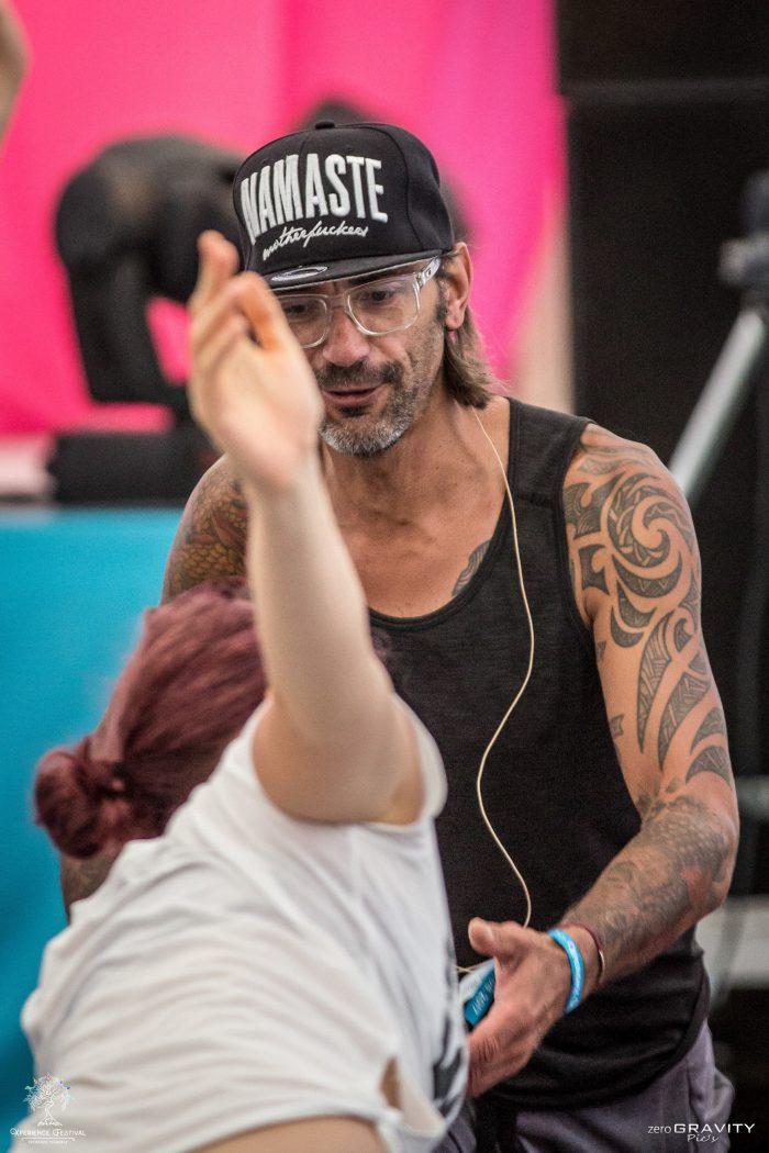 mike in Kitzbühel mit Männeryoga und Yoga für alle